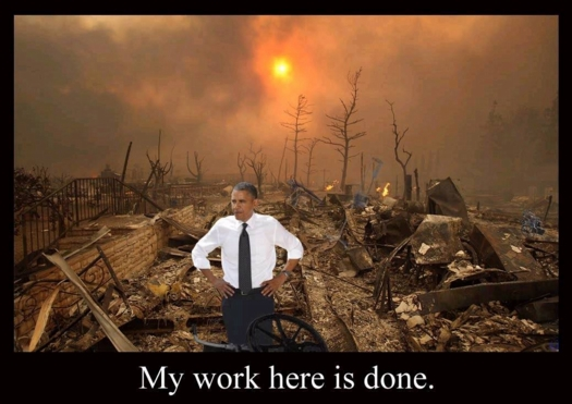 obama my work is done