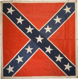 All Silk Regulation Form Army Of Northern Virginia Battleflag C. 1870_web