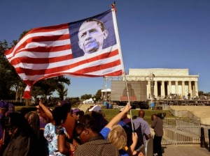 AA - Flag of Obama