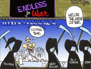Cartoon - Endless War
