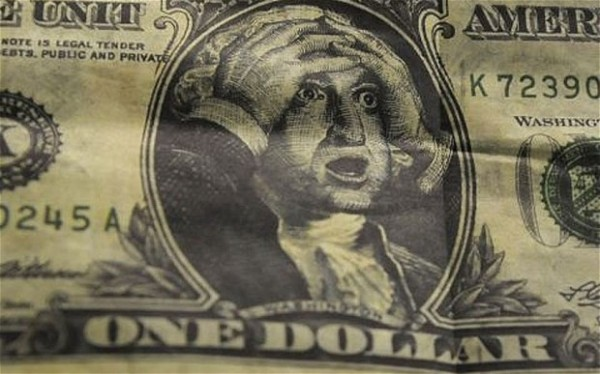 The dollar is currently boosted by being a reserve currency Photo: Reuters