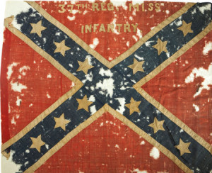 Civil-War-Confederate-Battle-Flag-of-the-37th-Mississippi-Infantry-sold-for-nearl-51000