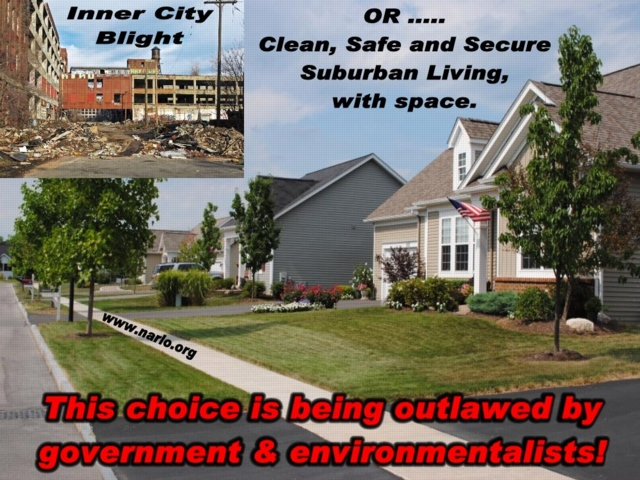 suburbia vs blight