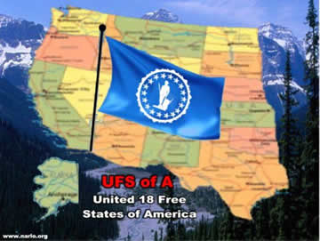 USFA Map and Flag