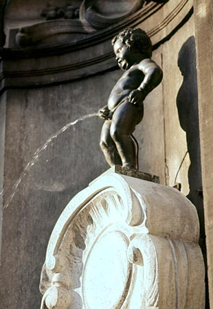 the Manneken Pis