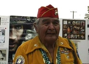 Joe Hosteen Kellwood died Monday at the age of 95. He is one of the last remaining Navajo Code Talkers