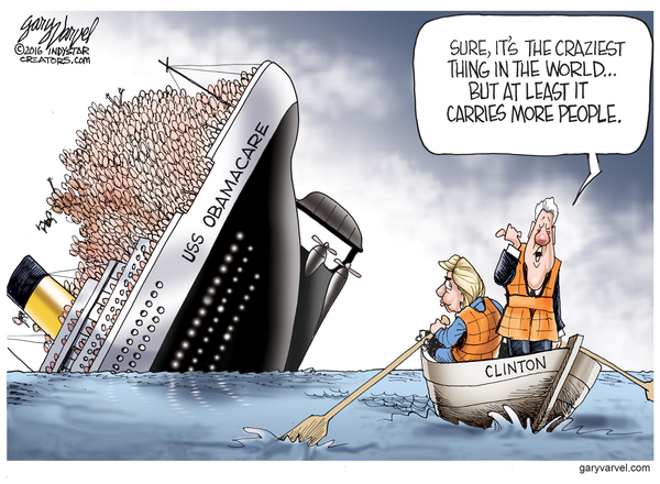 """President Bill Clinton called Obamacare the """"craziest thing in the world."""""""