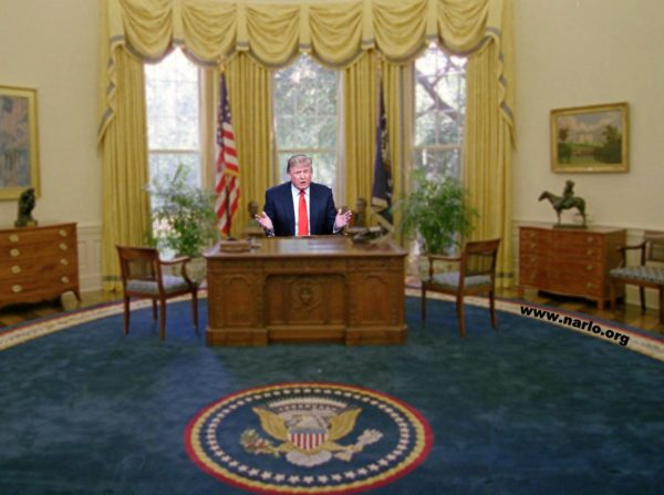 Ok so trump was elected don t be expecting miracles Oval office decor by president