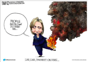 Liar, Liar – Pants on Fire…